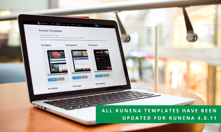 All Kunena templates have been updated for Kunena 4.0.11